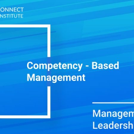 Competency – Based Management Training