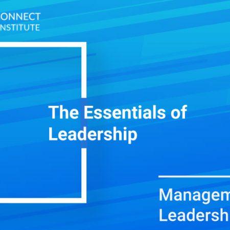The Essentials of Leadership Training