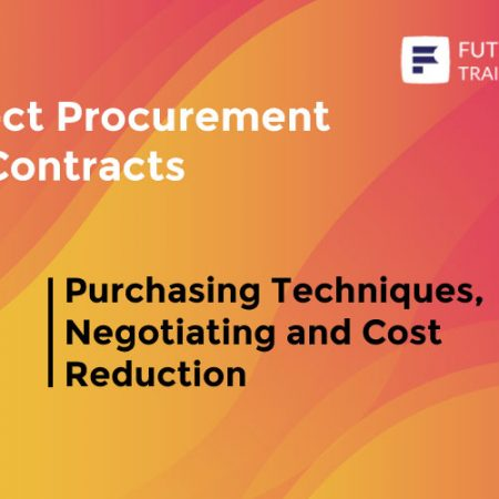 Purchasing Techniques, Negotiating and Cost Reduction Training