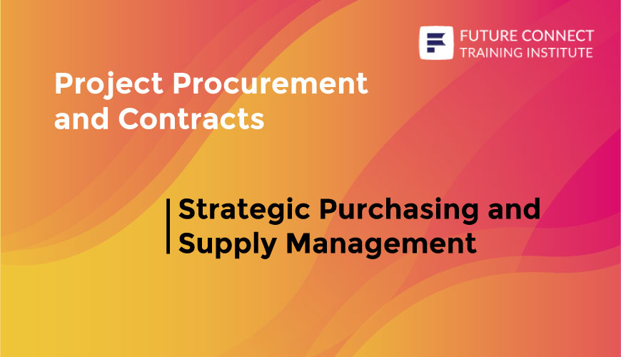 Strategic Purchasing and Supply Management Training