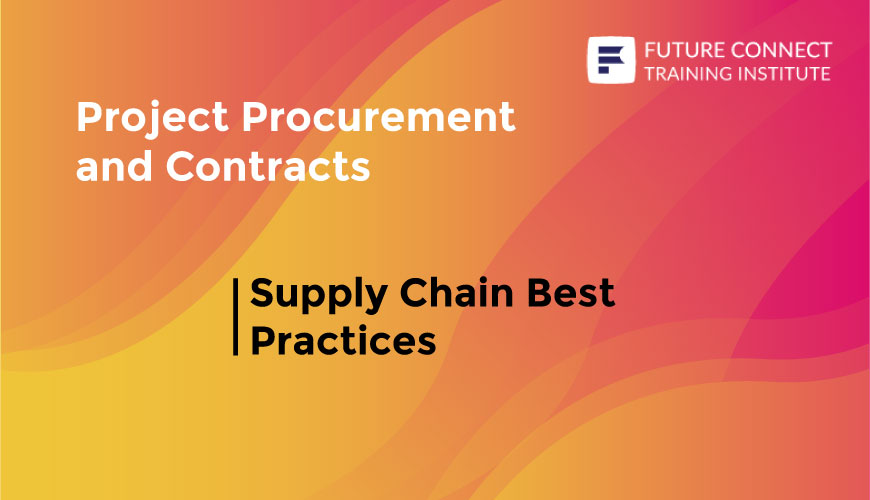 Supply Chain Best Practices Training