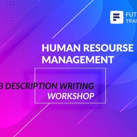 Job Description Writing Workshop Training