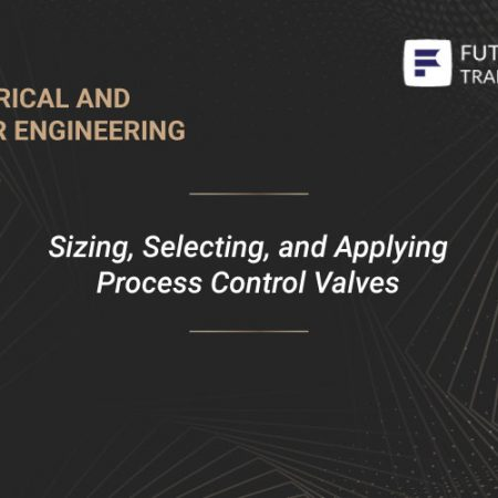 Sizing, Selecting, and Applying Process Control Valves Training