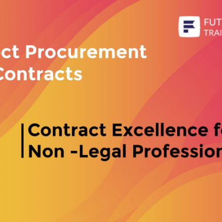 Contract Excellence for Non-Legal Professionals Training