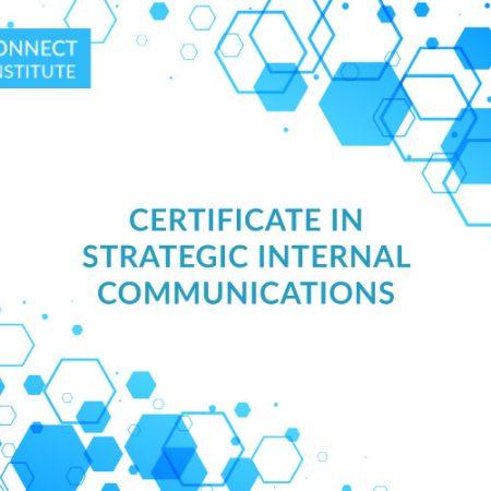 Certificate in Strategic Internal Communications