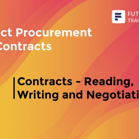 Contracts – Reading, Writing and Negotiating Training