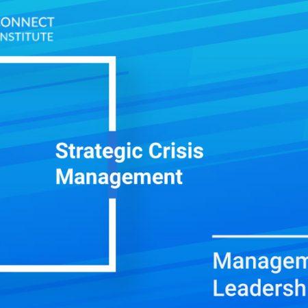 Strategic Crisis Management Training