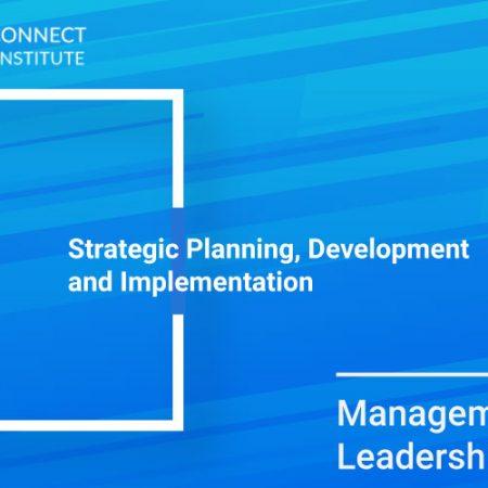 Strategic Planning, Development and Implementation Training